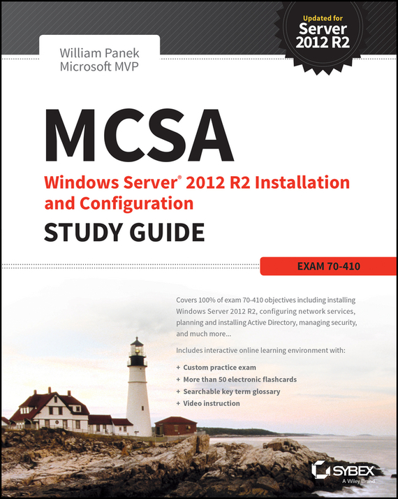 William Panek MCSA Windows Server 2012 R2 Installation and Configuration Study Guide. Exam 70-410 ISBN: 9781118859681 windows server 2012 r2 active directory配置指南