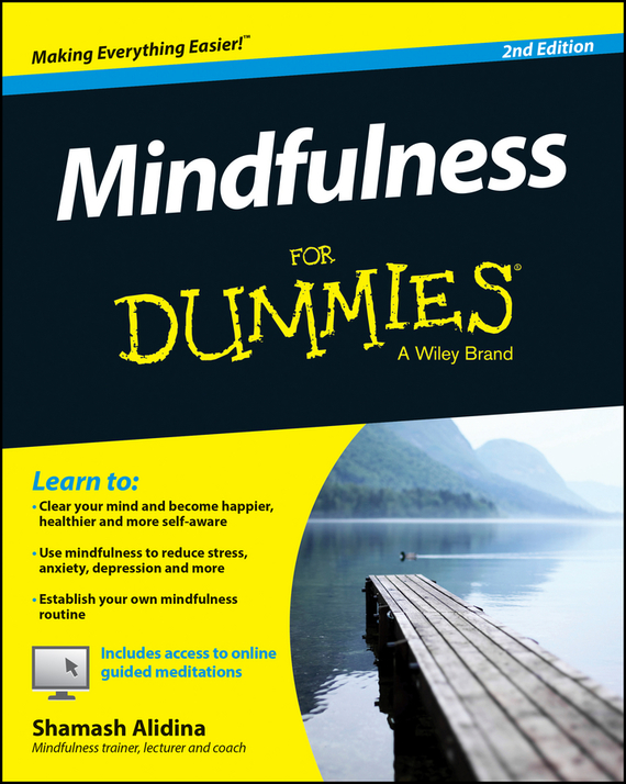Shamash  Alidina Mindfulness For Dummies improving quality of life in anxiety and depression