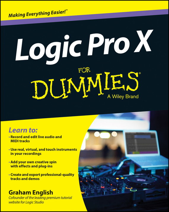 Graham English Logic Pro X For Dummies good working high quality for original 99% new for board t370hw02 v5 07a63 1c t con logic board