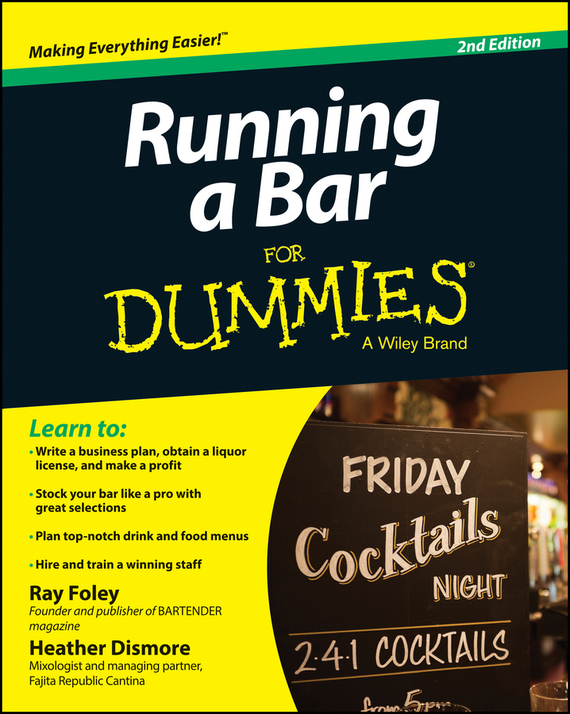 Ray Foley Running a Bar For Dummies the imactm for dummies®