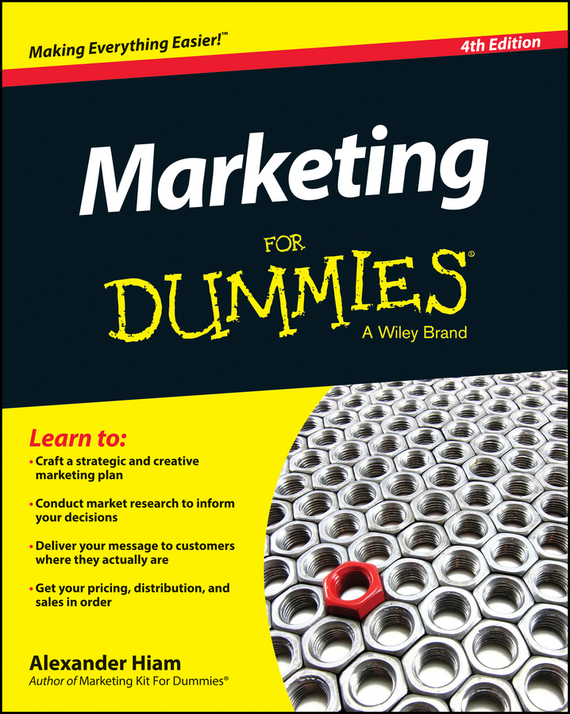 Alexander  Hiam Marketing For Dummies michael hyman marketing research kit for dummies