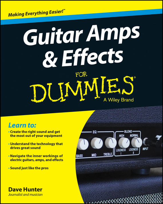 Dave  Hunter Guitar Amps and Effects For Dummies ark benefit m7 dual sim black