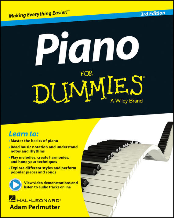 Adam Perlmutter Piano For Dummies the imactm for dummies®