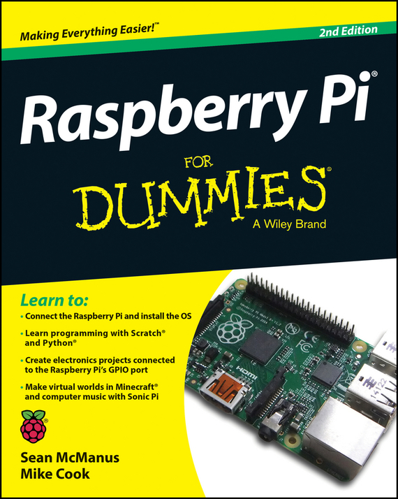 Sean McManus Raspberry Pi For Dummies free shipping 10pcs lot tda2050 st to 220 5 make in china ultra boost hakko t12 kit diy mp3 breadboard raspberry pi zero