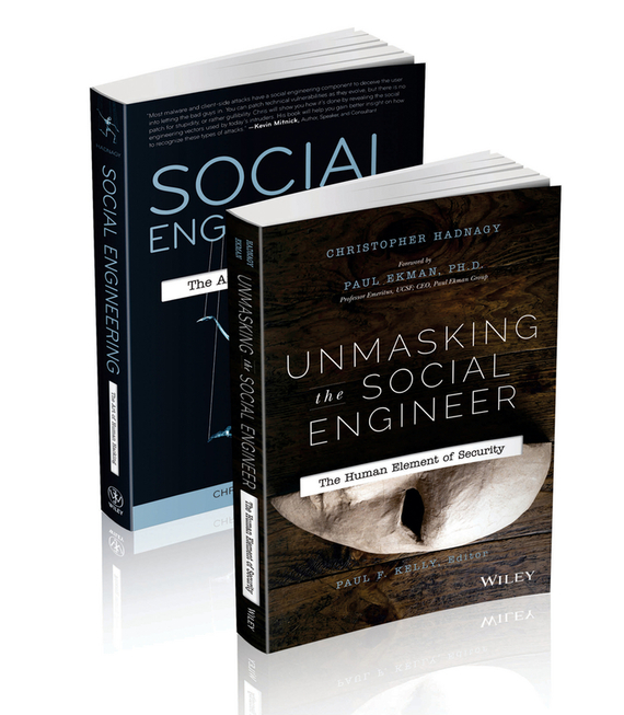 Christopher Hadnagy Social Engineering and Nonverbal Behavior Set