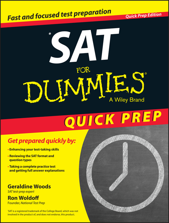 Geraldine  Woods SAT For Dummies 2015 Quick Prep edouard dujardin we ll to the woods no more
