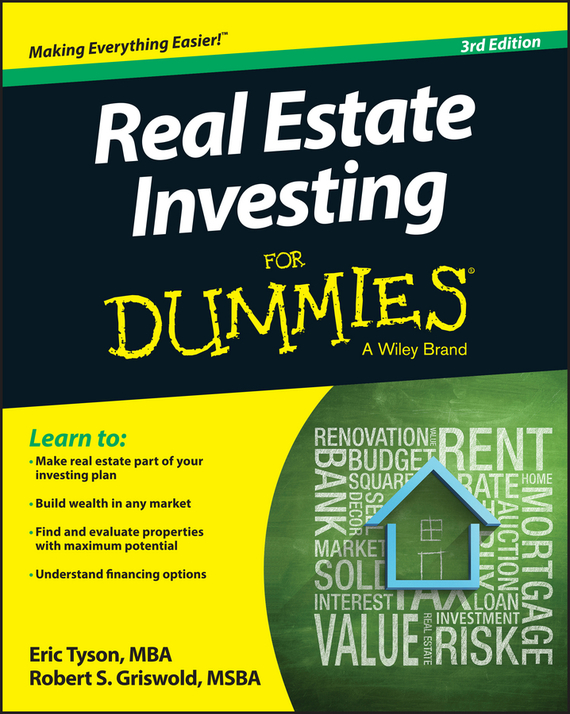 Eric  Tyson Real Estate Investing For Dummies sherwood neiss getting started with crowdfund investing in a day for dummies