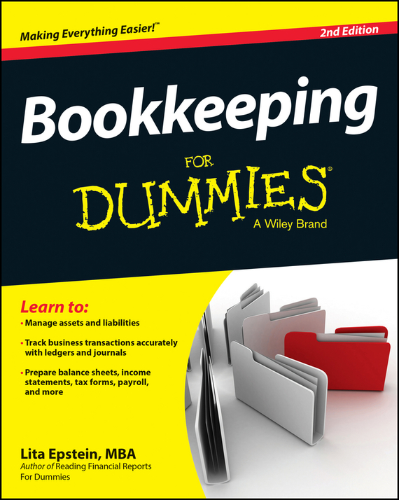Lita  Epstein Bookkeeping For Dummies