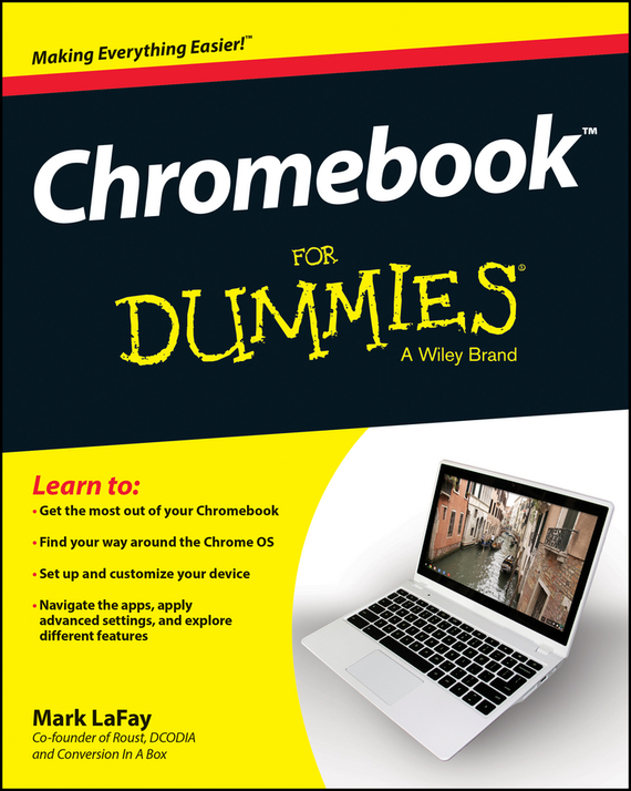 Mark LaFay Chromebook For Dummies laptop palmrest