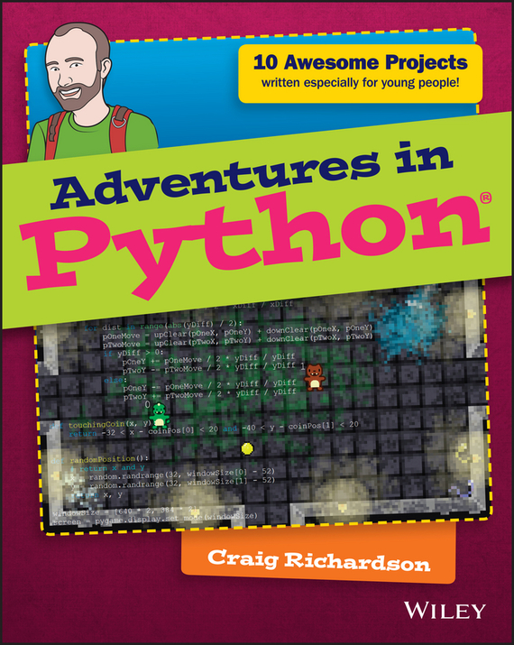 Craig  Richardson Adventures in Python twister family board game that ties you up in knots