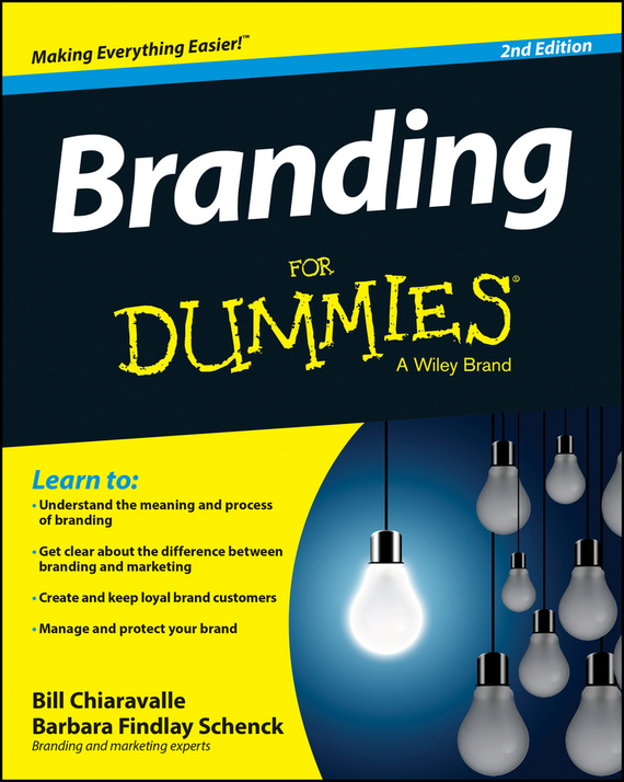 Bill Chiaravalle Branding For Dummies elaine biech training and development for dummies