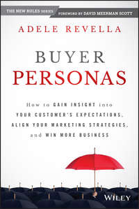 Adele  Revella - Buyer Personas. How to Gain Insight into your Customer's Expectations, Align your Marketing Strategies, and Win More Business