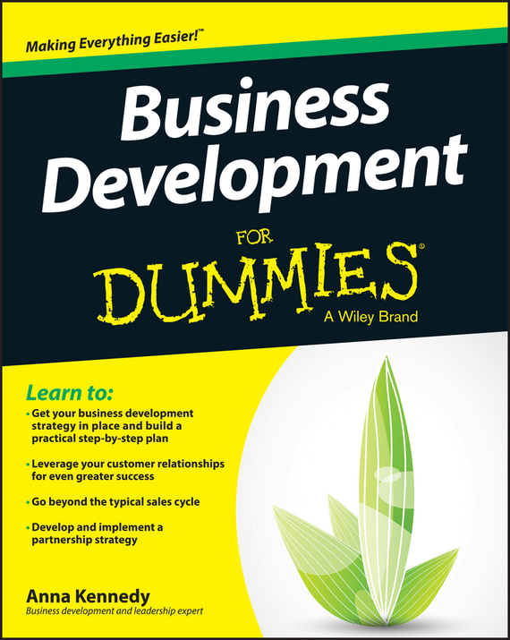 Anna Kennedy Business Development For Dummies elaine biech training and development for dummies