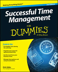 Dirk  Zeller - Successful Time Management For Dummies