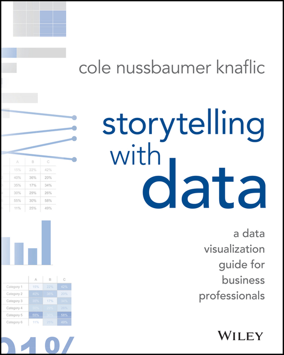 Cole Knaflic Nussbaumer Storytelling with Data. A Data Visualization Guide for Business Professionals tony boobier analytics for insurance the real business of big data