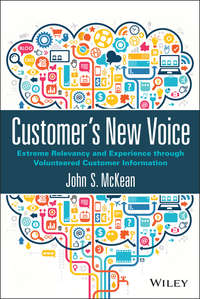 John McKean S. - Customer's New Voice. Extreme Relevancy and Experience through Volunteered Customer Information
