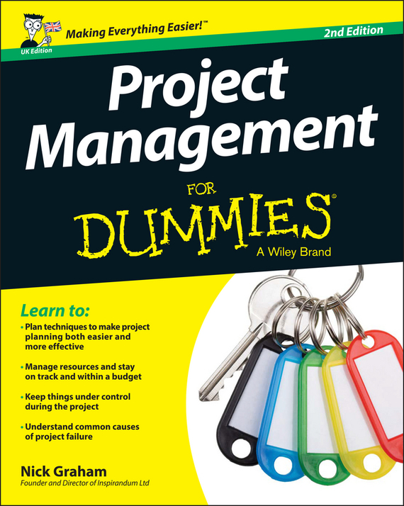 Nick  Graham Project Management for Dummies - UK виниловая пластинка alan parsons project the eye in the sky