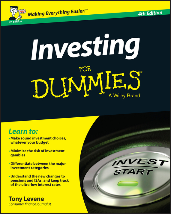 Tony  Levene Investing for Dummies - UK tony martin personal finance for canadians for dummies