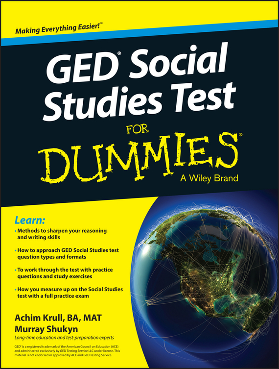 Murray Shukyn GED Social Studies For Dummies ISBN: 9781119029823
