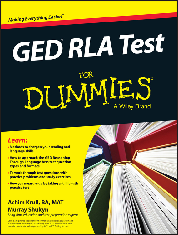 Murray Shukyn GED RLA For Dummies free shipping the laptop motherboard for asus k75d k75de qml70 la 8371p test good