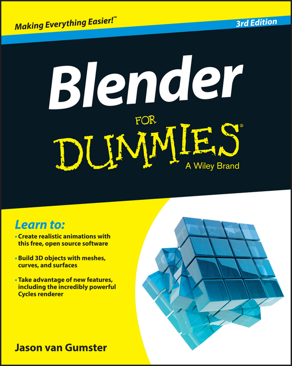 Jason Gumster van Blender For Dummies easy learning speak french with cdx2