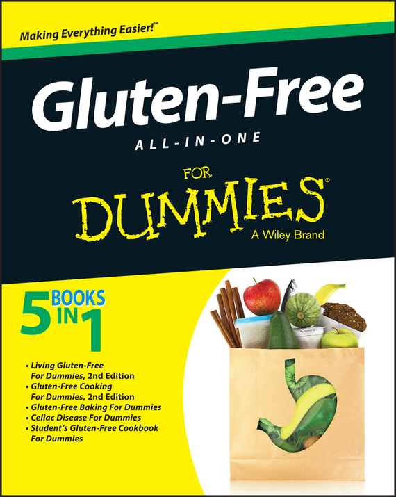 Consumer Dummies Gluten-Free All-In-One For Dummies free shipping 5pcs gsl3680 in stock