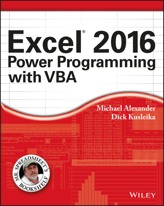 Michael  Alexander Excel 2016 Power Programming with VBA excel vba基础入门(第2版)(附光盘1张)