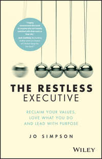 Jo  Simpson - The Restless Executive. Reclaim your values, love what you do and lead with purpose