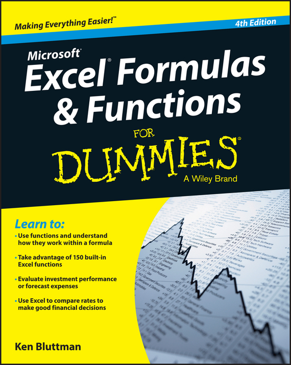 Ken Bluttman Excel Formulas and Functions For Dummies danielle stein fairhurst financial modeling in excel for dummies