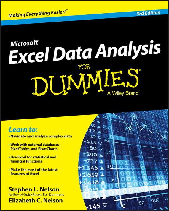 E. C. Nelson Excel Data Analysis For Dummies цены онлайн