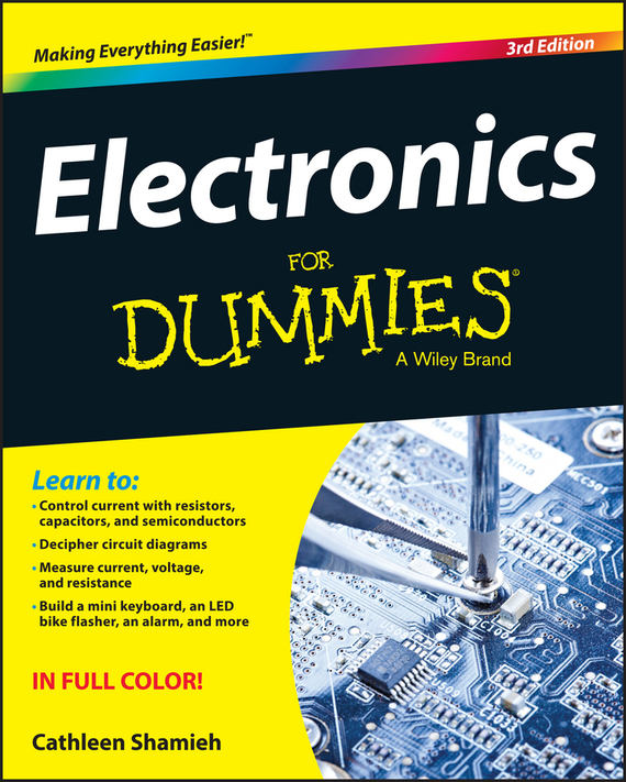 Cathleen Shamieh Electronics For Dummies набор simple motor and encoder kit dagu electronics