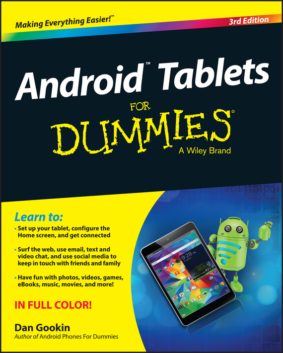 Dan Gookin Android Tablets For Dummies derek james android game programming for dummies