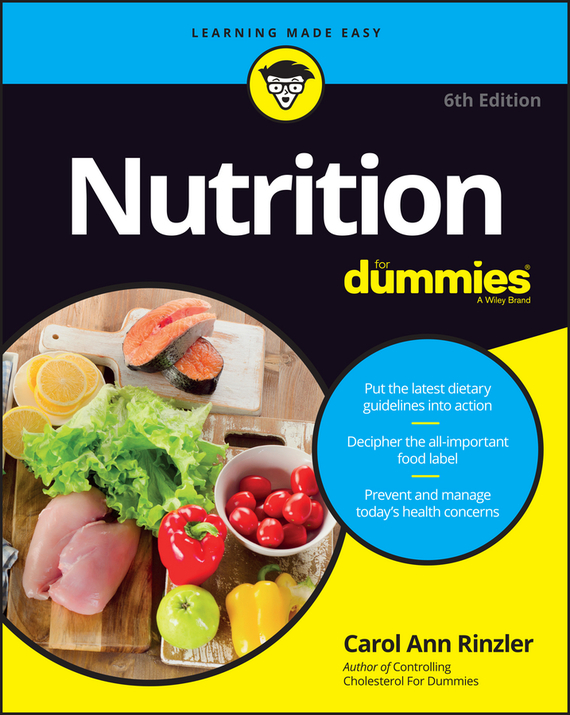 Carol Rinzler Ann Nutrition For Dummies ISBN: 9781119130260 carol rinzler ann controlling cholesterol for dummies isbn 9780470395387