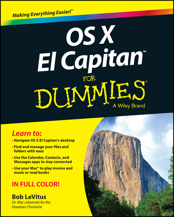 Bob LeVitus OS X El Capitan For Dummies robust watermarking and its applications to communication problems
