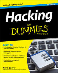 - Hacking For Dummies