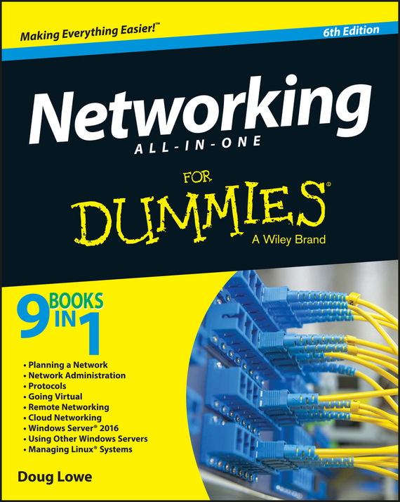 Doug  Lowe Networking All-in-One For Dummies ноутбук dexp athena t132 intel celeron n2840 2 16 ghz 2048mb 500gb no odd intel hd graphics wi fi bluetooth 14 0 1366x768 windows 10