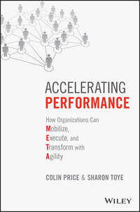 Colin  Price - Accelerating Performance. How Organizations Can Mobilize, Execute, and Transform with Agility