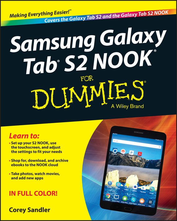 Corey Sandler Samsung Galaxy Tab S2 NOOK For Dummies 10pcs ogs tested lcd panel for samsung galaxy tab 4 7 0 t230 t231 lcd display brand new with tracking number