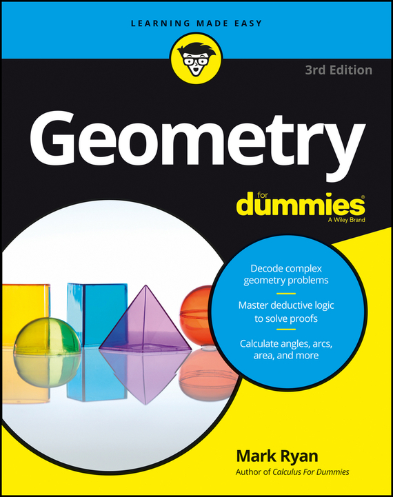 Mark  Ryan Geometry For Dummies frank ryan willpower for dummies