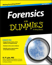 Douglas Lyle P. - Forensics For Dummies