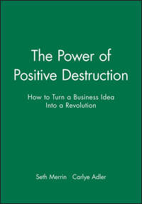 Carlye  Adler - The Power of Positive Destruction. How to Turn a Business Idea Into a Revolution