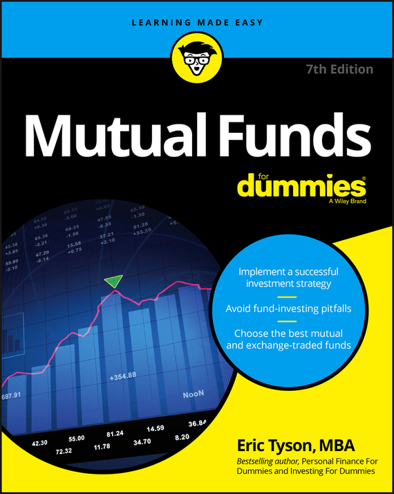 Фото Eric Tyson Mutual Funds For Dummies finance and investments