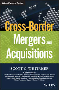 Scott Whitaker C. - Cross-Border Mergers and Acquisitions