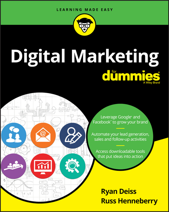 Ryan  Deiss Digital Marketing For Dummies frank ryan willpower for dummies