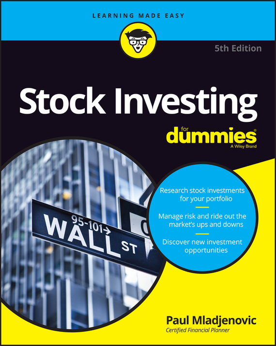 Paul Mladjenovic Stock Investing For Dummies new in stock lda10 24s12