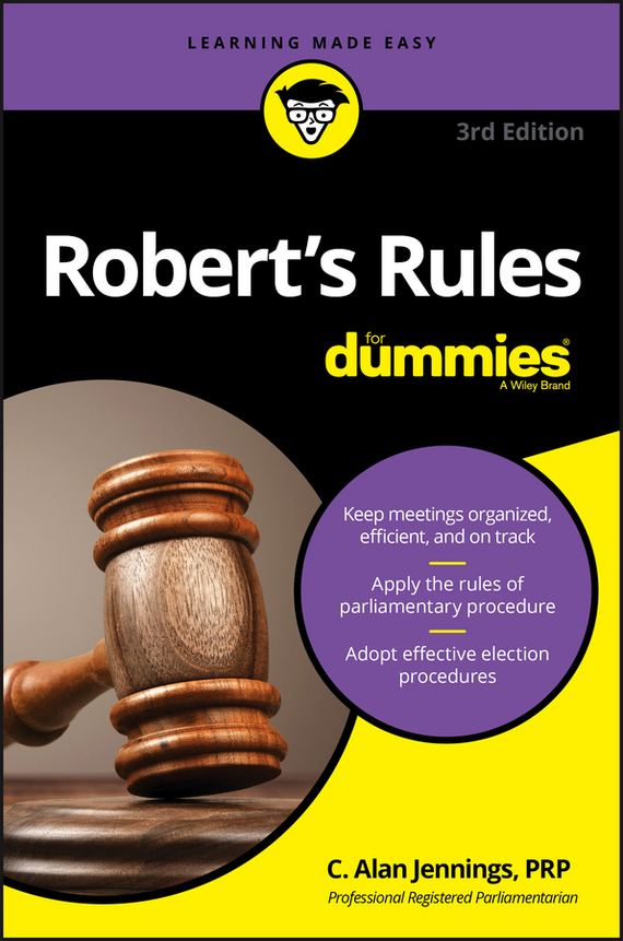 C. Jennings Alan Robert's Rules For Dummies ISBN: 9781119241744