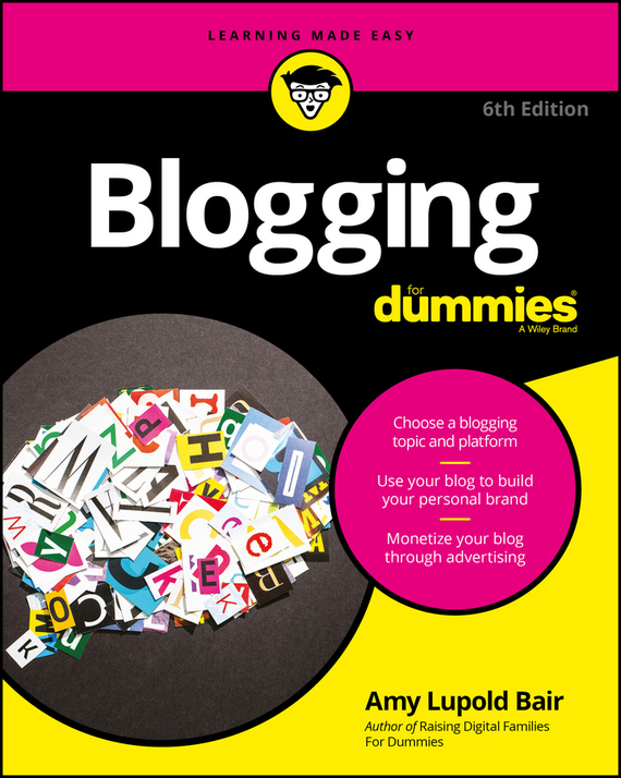 Amy Bair Lupold Blogging For Dummies blog