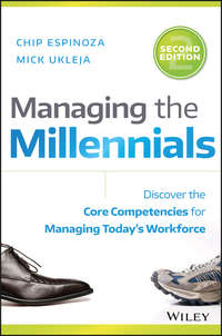 - Managing the Millennials. Discover the Core Competencies for Managing Today's Workforce