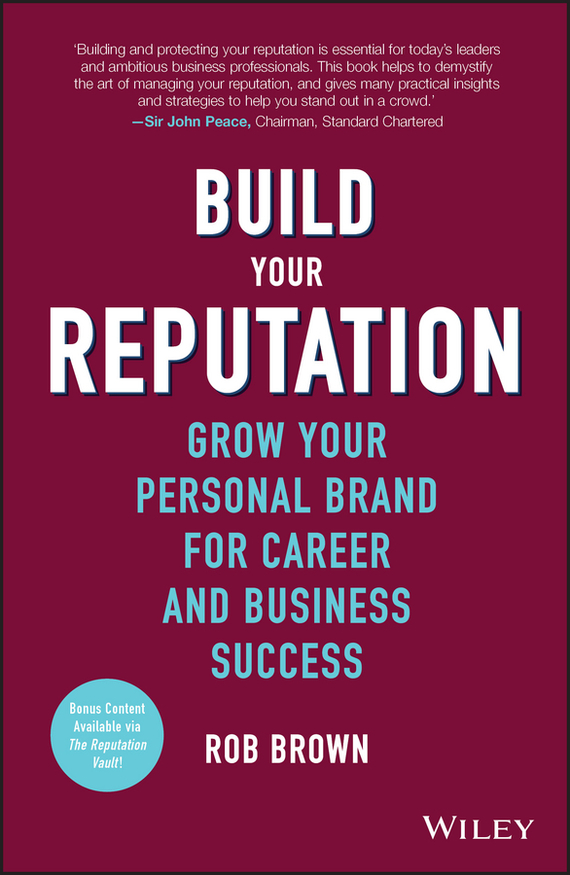 Rob Brown Build Your Reputation. Grow Your Personal Brand for Career and Business Success cd iron maiden a matter of life and death