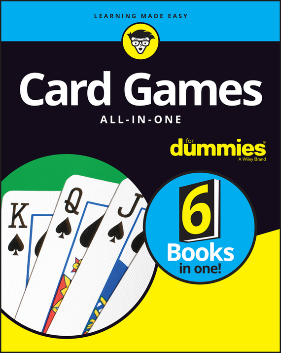 Consumer Dummies Card Games All-In-One For Dummies slogan card sleeve